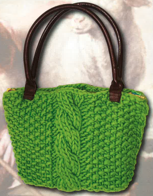 Grandmothers Knitted Purse Pattern