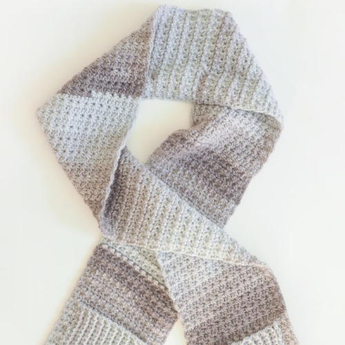 Cozy Pocket Scarf Crochet Pattern