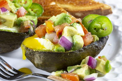 Wake Up Air Fryer Avocado Boats
