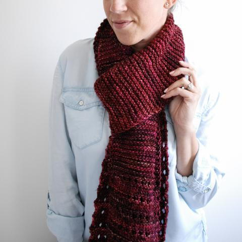 The Milan Scarf Knitting Pattern