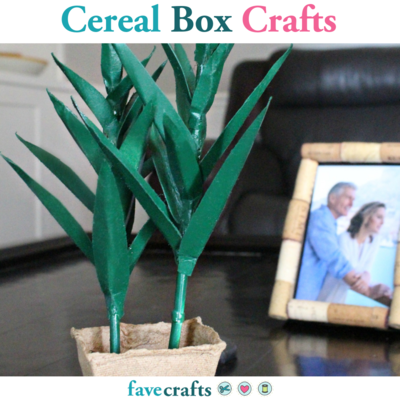 Cereal Box Crafts: 11 Gorgeous Cardboard Projects
