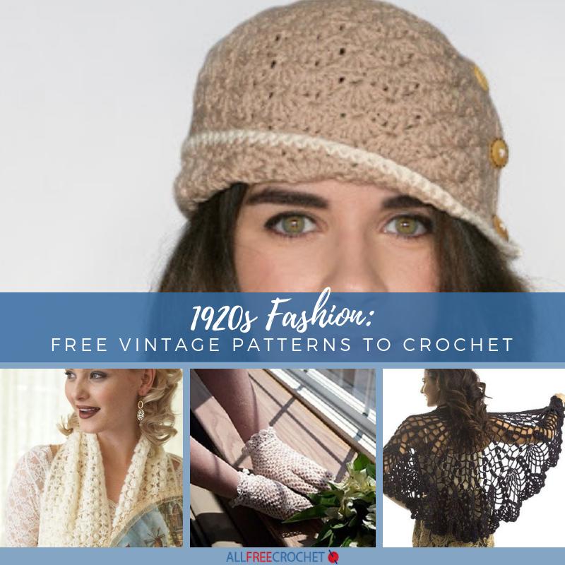 Vintage Baby Cap Hat Bonnet Crochet Pattern Afghan Set