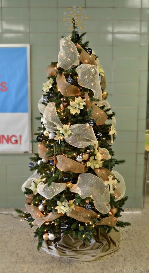 Names of Christ Christmas Tree Decorating Idea