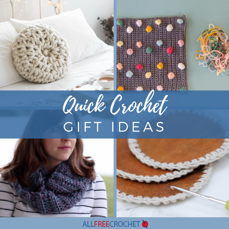 c8bf27616 40+ Quick Crochet Gift Ideas | AllFreeCrochet.com