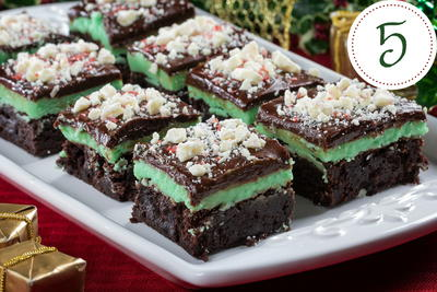Decadent Peppermint Brownies