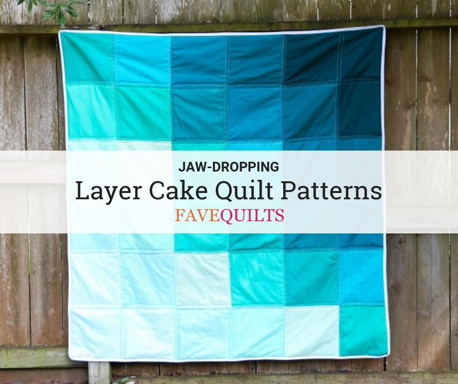Free Lemonade Layer Cake Quilt Pattern With Moda Fabrics Fat