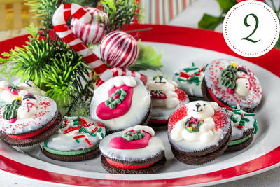 Winter Wonderland Snack Cookies