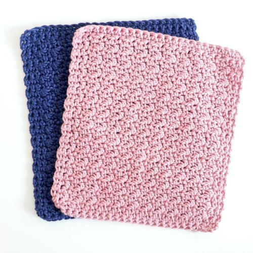 Washcloth Set Crochet Pattern