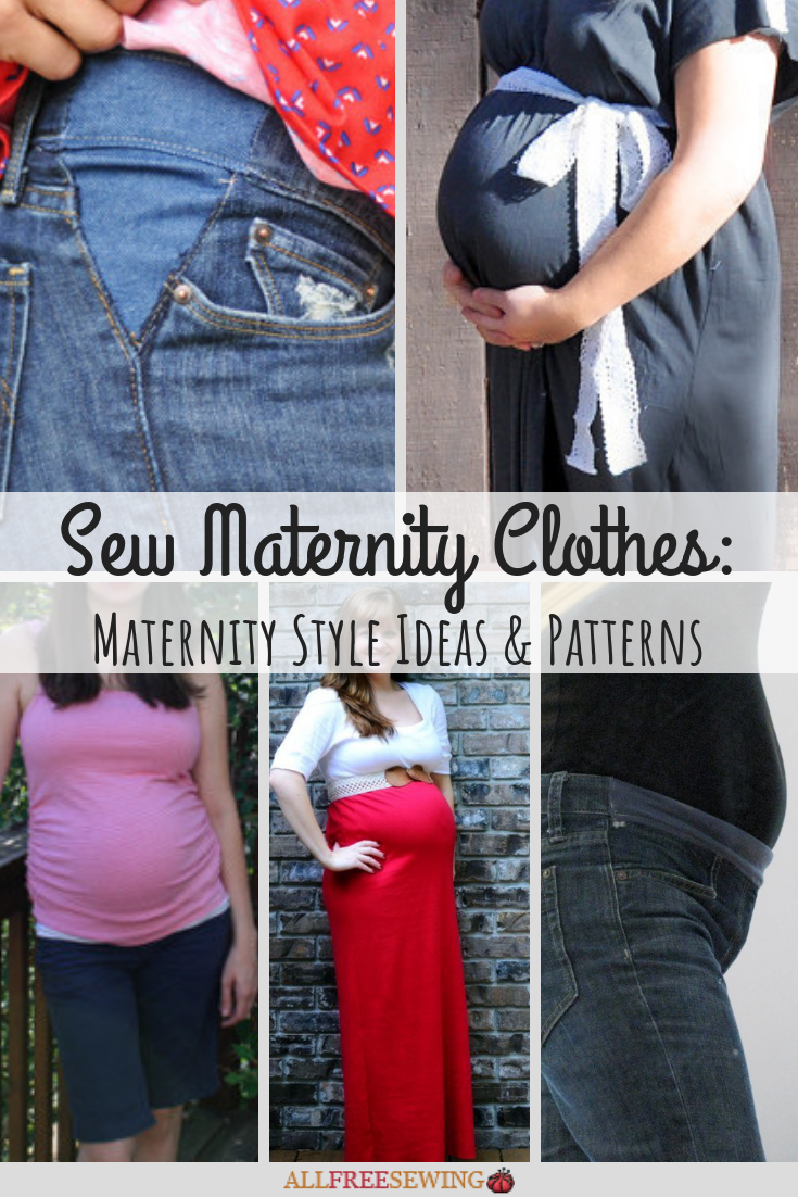 Sew Maternity Clothes 23 Maternity Style Ideas Patterns Allfreesewing Com