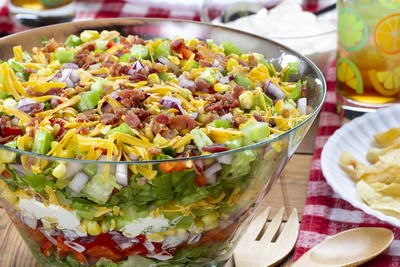 Chilled Stacked Salad