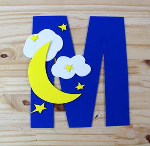 Letter M Craft With Printable