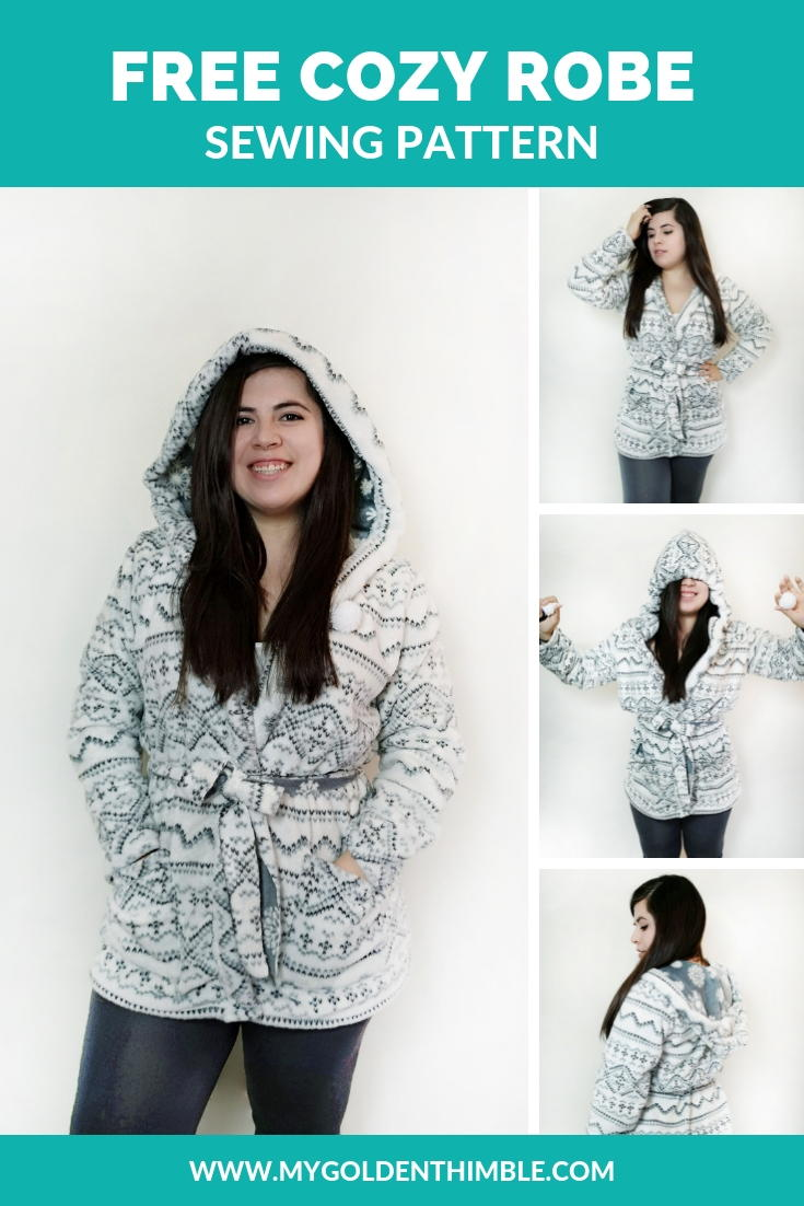 Free Hooded Robe Pattern Allfreesewing Com