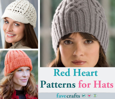 Red Heart Patterns for Hats