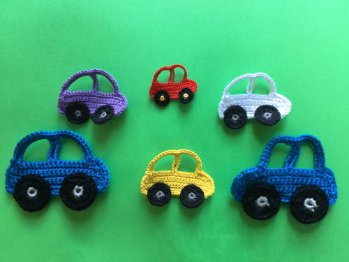 Easy Crochet Car