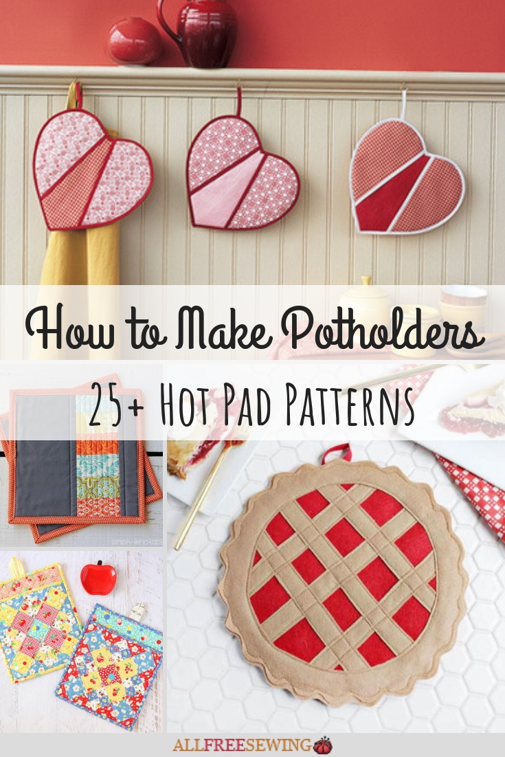 How To Make Potholders 25 Hot Pad