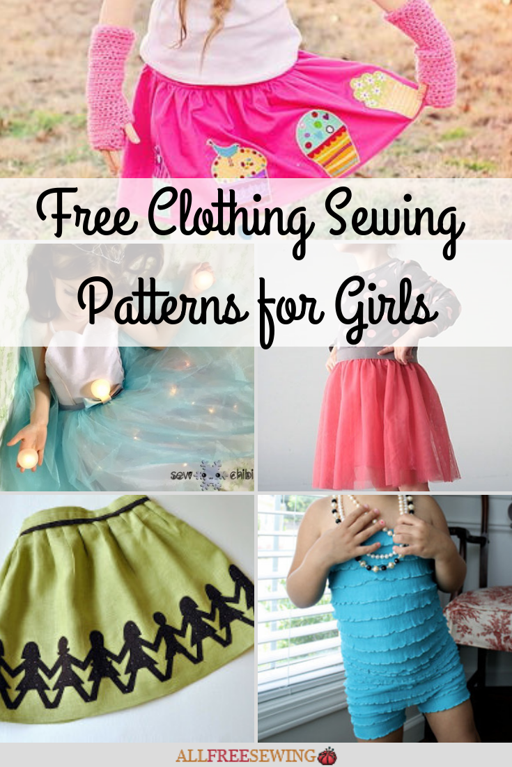 8a7b8e39d 50+ Free Clothing Patterns for Girls | AllFreeSewing.com