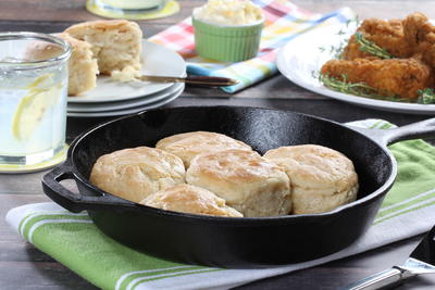 Cast-Iron Buttermilk Biscuits