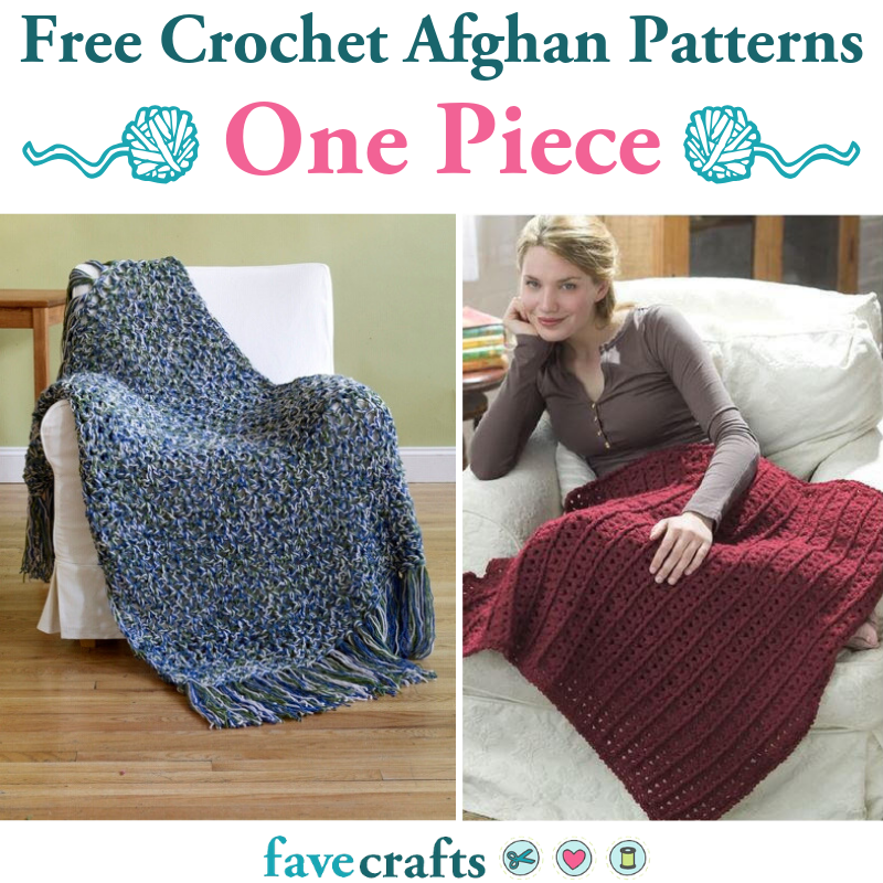 25 Free Crochet Afghan Patterns One Piece Only Favecrafts