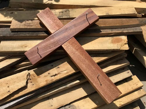 Simple Homemade Wooden Cross