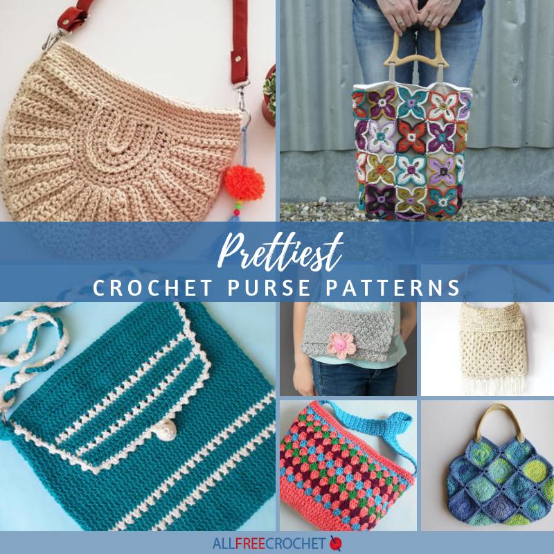 24 Crochet Purse Patterns Prettiest