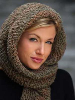 Open Weave Scarf Head Wrap Favecrafts Com