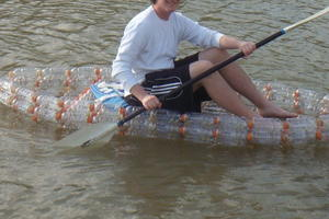 Recycled Bottle Kayak