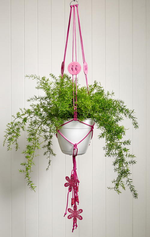 Craft Lovers DIY Macrame Plant Hanger