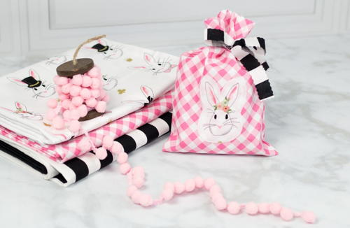 Bunny Gift Bag Sewing Tutorial