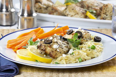 Greek Isles Roasted Chicken