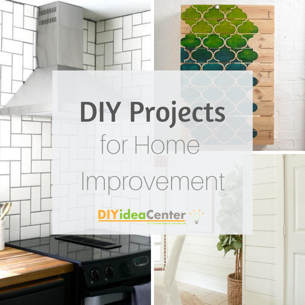 34 Diy Projects For Home Improvement Easy Diyideacenter Com