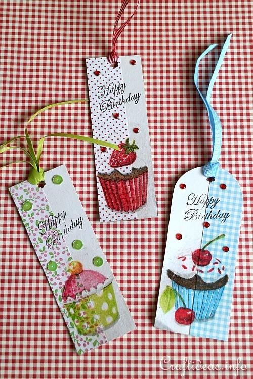 Cheerful Birthday Gift Tags Allfreepapercrafts Com