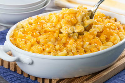 Layered Macaroni and Cheese