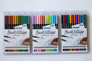 Marvy Uchida Brush Lettering Pens Giveaway