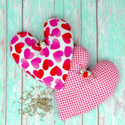 How to Sew a Heart Shaped Heating Pad