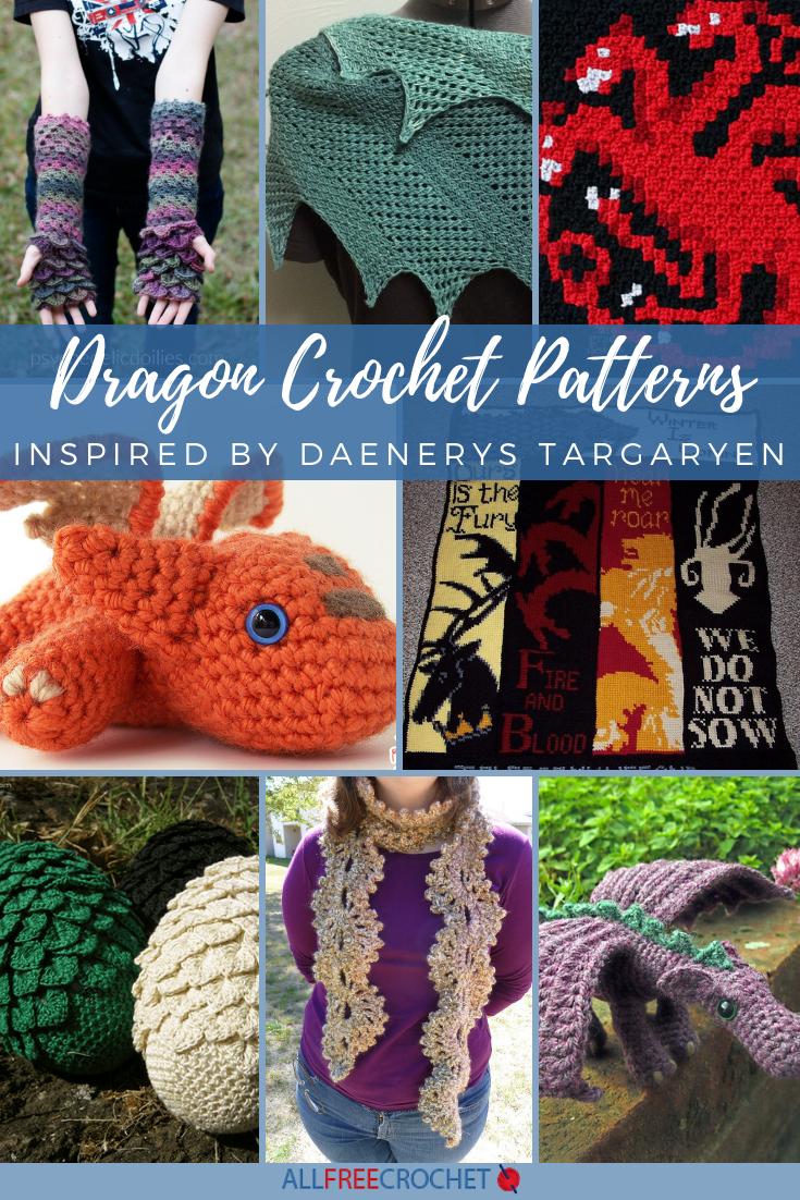 30 Dragon Crochet Patterns Inspired By Daenerys Targaryen Allfreecrochet Com