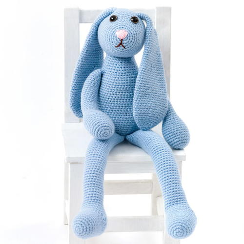 Blue Crochet Bunny Pattern