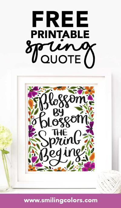 Free Printable Quote