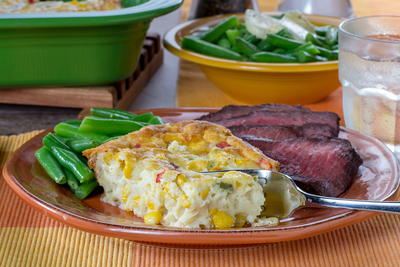 Southwestern Corn Pudding