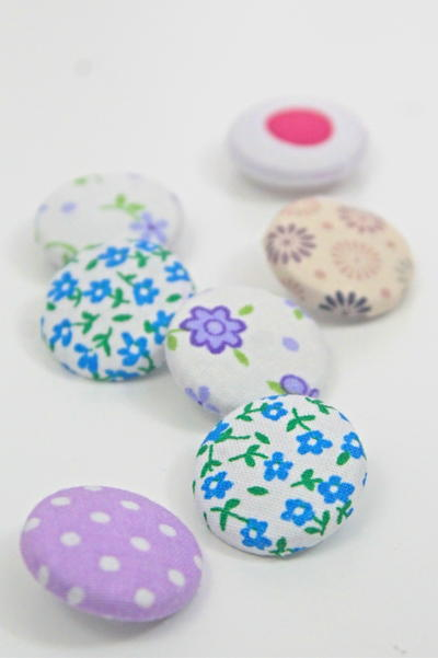 DIY Fabric Buttons
