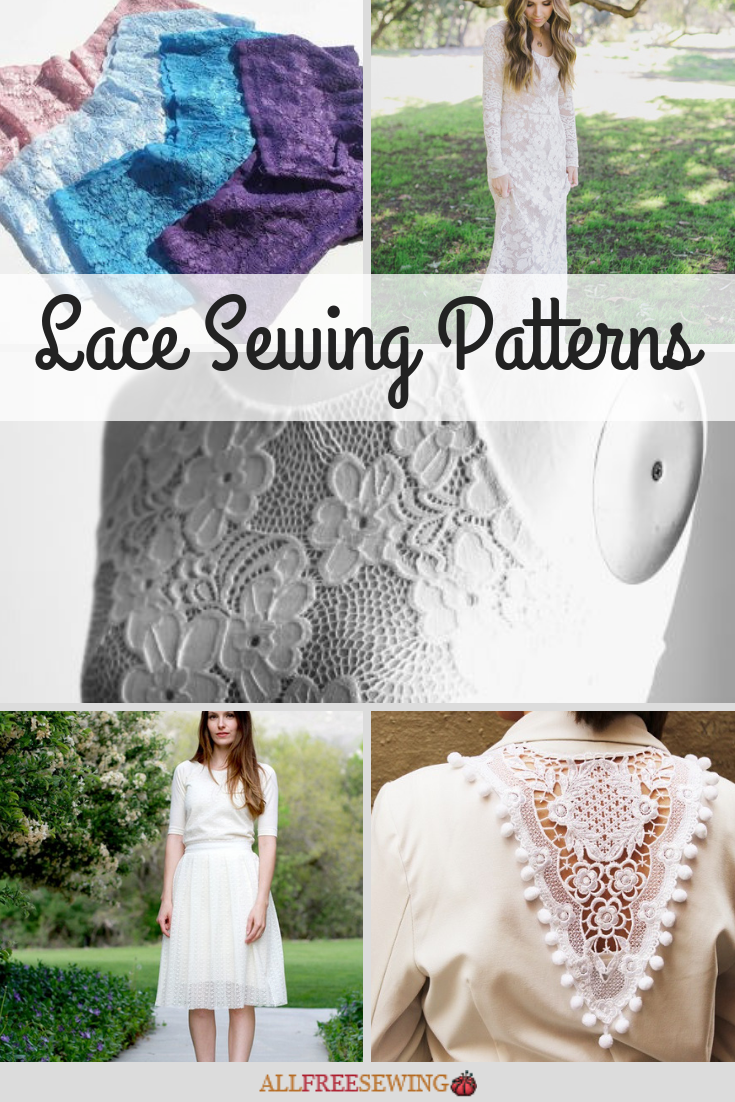 40 Lace Sewing Patterns Allfreesewing Com