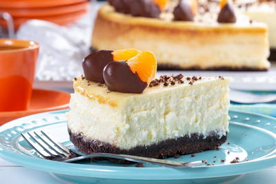 Orange Chocolate Cheesecake