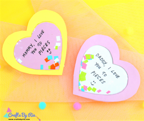 I Love You to Pieces Card Craft