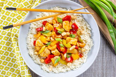 Copycat PF Changs Chicken Kung Pao