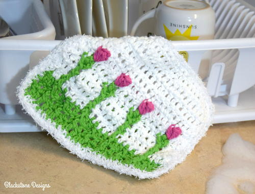 Spring Tulips Washcloth