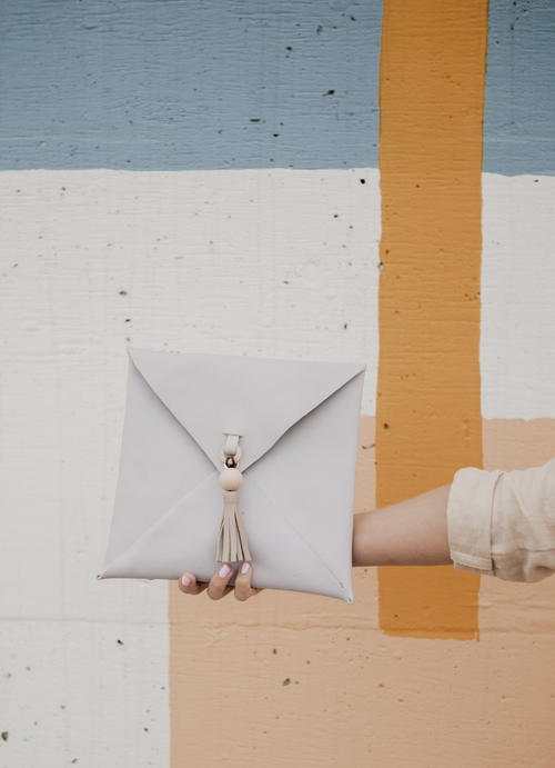 How to Make a Leather Envelope Clutch