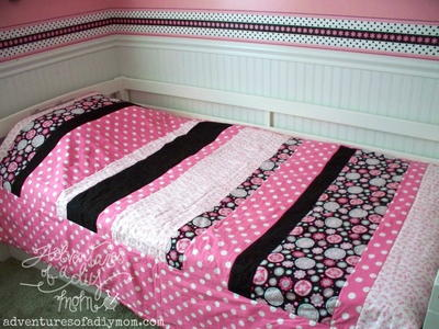 Quick and Easy Striped Quilt