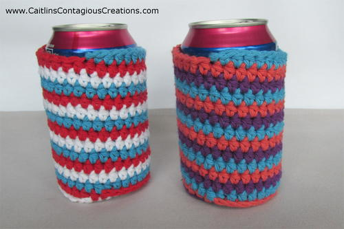 Spiral Can Cozy Crochet Pattern