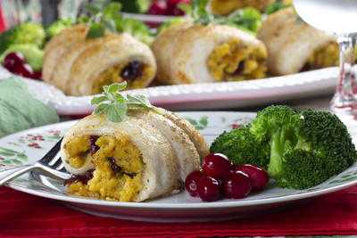 Holiday Stuffed Fish Fillets