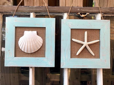 Coastal Inspired Wall Decor