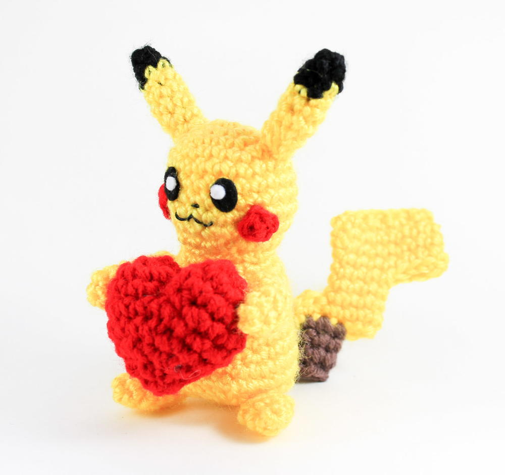Pikachu-Inspired Crochet Pattern | FaveCrafts.com | 941x1000